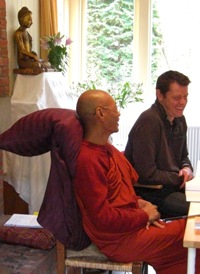 Sayadaw Dr. Nandamāla in Holland